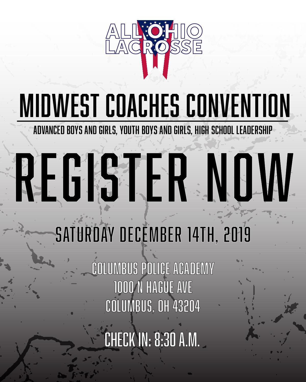 Coaches Convention Flier